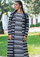 Платье+кардиган k-45593