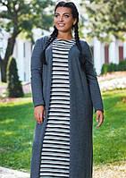 Платье+кардиган k-45594