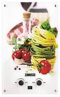 Водонагреватель газовый проточный Zanussi  GWH 10 Fonte Glass La Spezia (GWH10FONTEGLASSLASPEZIA)
