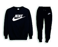 Мужской спортивный костюм, чоловічий костюм (реглан+штаны) Nike S159, Реплика