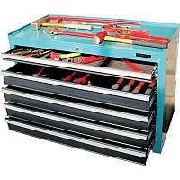 Набор инструментов искробезопасных 176пр., в инструментальном ящике, 5 полок GARWIN (GSK-19176)