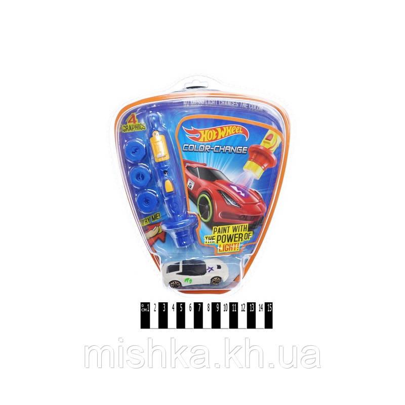 """Машина """"HOT WHEELS» (змінює колір від світла, планшет) EG757-1 р. 21 * 25 * 5см (Мас)"""