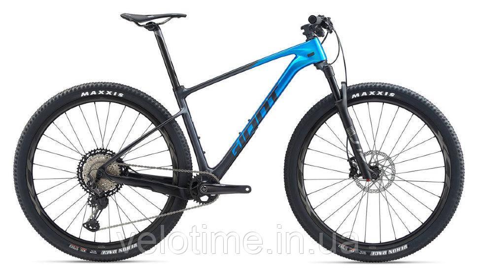 Giant XTC Advanced SL 1 29 2020 (M, серый-синий)