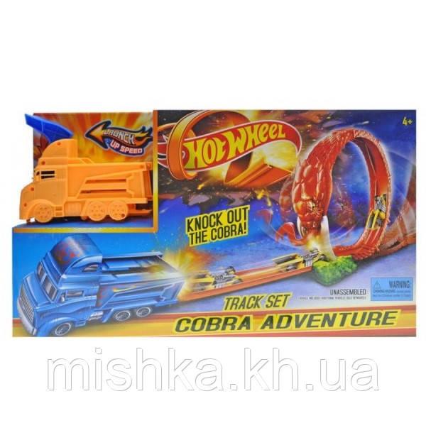 "Трек-запуск ""Hot Wheel"" ""Cobra Truck"" (1 машина) 3075 (Мас)"