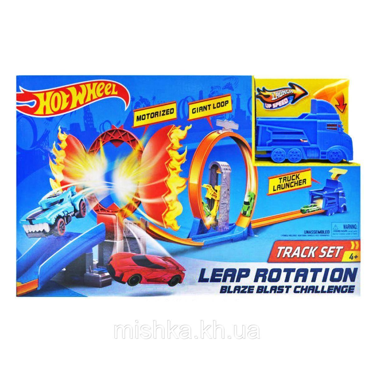 "Трек-запуск ""Hot Wheel"" ""Truck"" (+1 машинка) 5789 (Мас)"