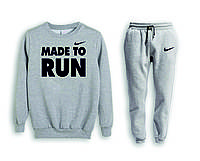 Мужской спортивный костюм, чоловічий костюм (свитшот+штаны) Nike S596, Реплика