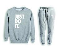 Мужской спортивный костюм, чоловічий костюм (свитшот+штаны) Nike S599, Реплика
