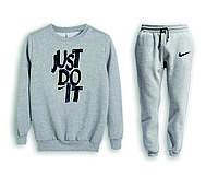 Мужской спортивный костюм, чоловічий костюм (свитшот+штаны) Nike S602, Реплика