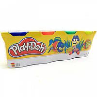 Набор для лепки Play-Doh - Масса для лепки (4 баночки - 448 гр) №1 B5517, фото 1