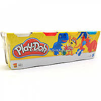 Набор для лепки Play-Doh - Масса для лепки (4 баночки - 448 гр) №2 B5517, фото 1