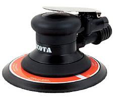 Шлифмашинка пневматическая 150 х 5,0 мм с шлангом и мешком для сбора пыли LICOTA (PAS-10067-6AH)