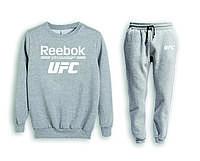 Мужской спортивный костюм, чоловічий костюм (свитшот+штаны) UFC S698, Реплика