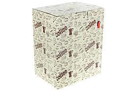 Набір (6 шт) кухлів керамічних 240мл на металевій підставці Яскравий мікс (344-147), фото 3