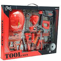 Набор строительных инструментов для детей T220 (с каской), фото 1