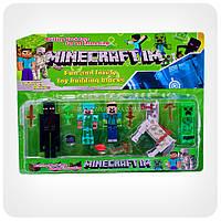 Набор фигурок «Minecraft» (Майнкрафт, 11 предметов), фото 1