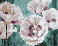Картина по номерам Brushme 40х50 Белые маки (GX28665), фото 1