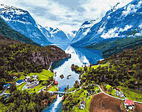 Картина по номерам Brushme 40х50 Альпы (GX28730), фото 1
