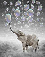 Картина по номерам Brushme 40х50 Слон в облаках (GX28776), фото 1