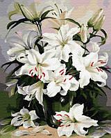 Картина по номерам Brushme 40х50 Нежные лилии (GX29431), фото 1