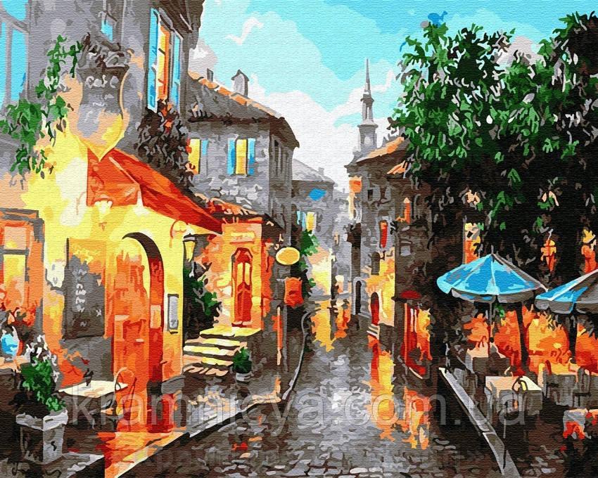 Картина по номерам Brushme 40х50 Город в вечернем свете (GX29452)
