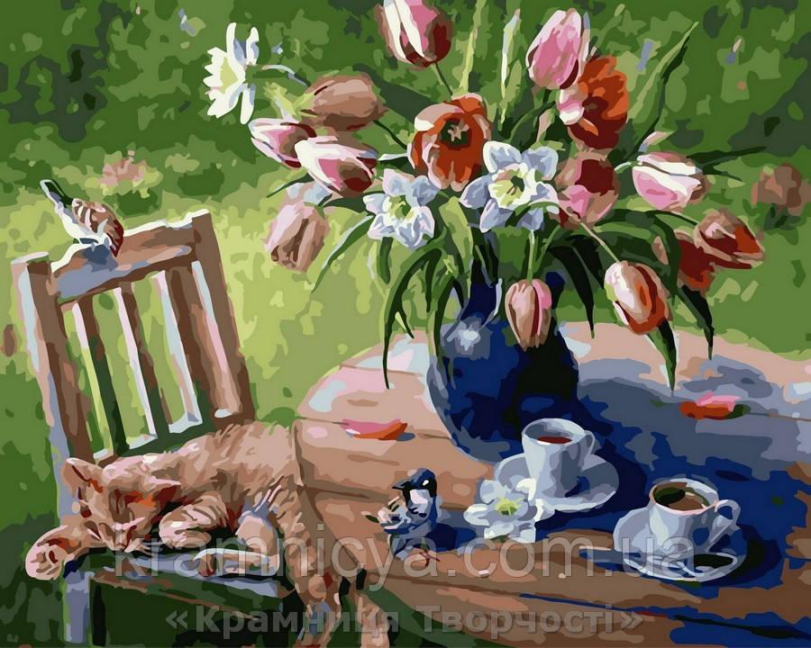 Картина по номерам Brushme 40х50 Лето в саду (GX29472)