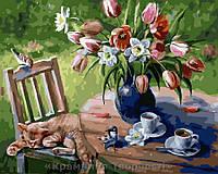 Картина по номерам Brushme 40х50 Лето в саду (GX29472), фото 1