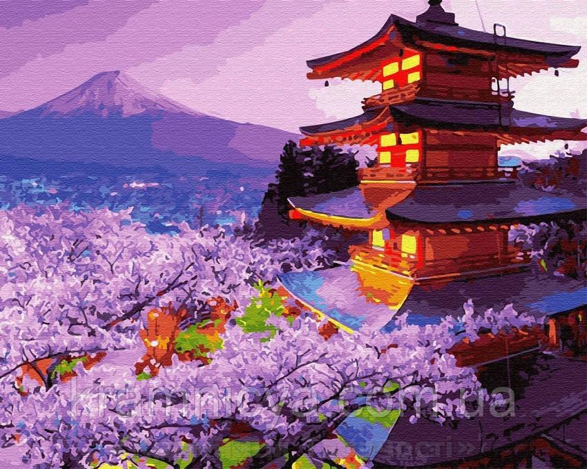 Картина по номерам Brushme 40х50 Вечер в Японии (GX30099)