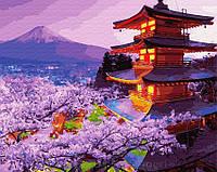 Картина по номерам Brushme 40х50 Вечер в Японии (GX30099), фото 1