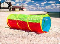 Палатка детская игровая «Труба» M 2500, фото 2