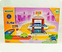 Парковка детская «Kid cars 3D» - (трасса, 2 этажа, машинка), фото 2