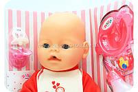 Пупс BABY BORN с аксессуарами и одеждой (9 функций) BB 8001-2-S, фото 3