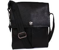 Стильная мужская сумка планшет из натуральной кожи 24х18х5-6см.