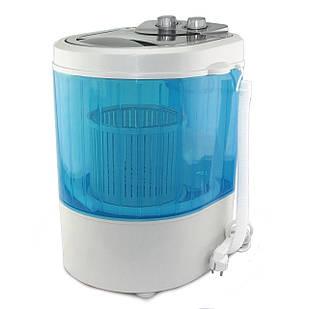 Мини стиральная машина Supretto 260 Вт Белый с синим (5638)