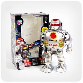 Робот «Защитник планеты» на ИК-управлении (звук, метание дисками)