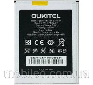 Аккумулятор акб ориг. к-во Oukitel U22, 2700mAh