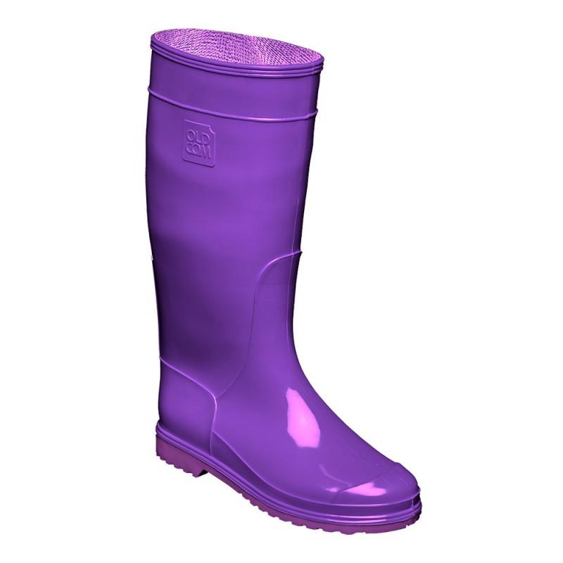 резиновые сапоги женские фиолетовые