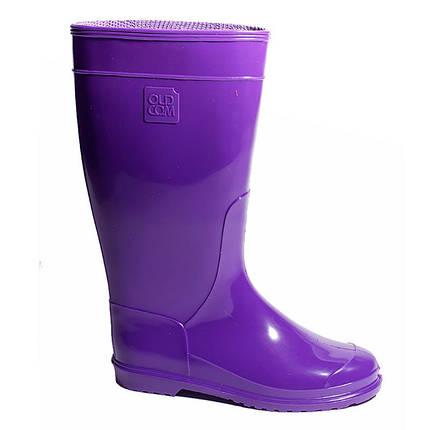 Сапоги резиновые OLDCOM женские Vivid фиолетовые, фото 2