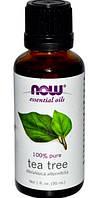 Ефірна олійка чайного дерева,Эфирное масло чайного дерева,Now Foods, 30мл