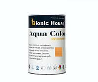 Краска для дерева Bionic-House Aqua Color UV-protect 0,8л Дуб А105