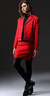 Куртка Nova Line-1631 белорусский трикотаж, красный, 42, фото 1