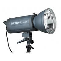 Студийный свет Mircopro EX-300S (300Дж) с рефлектором
