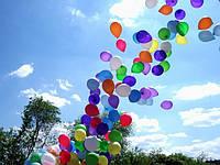 Шарики c гелием для запуска в небо 23 см (Летают 5-6 чамов)