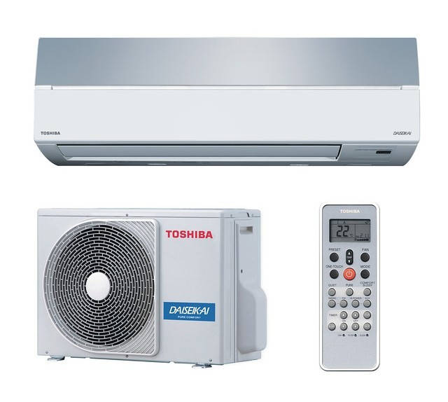 Инверторный кондиционер Toshiba RAS-13SKVR-E2/RAS-13SAVR-E2