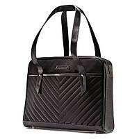 Женская сумка для ноутбука Samsonite Quilted Chevron Slim Brief, фото 1
