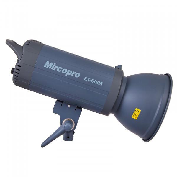 Студийный свет Mircopro EX-600S (600Дж) с рефлектором