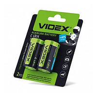 Батарейка Videx Mega LR14 / C (2шт)