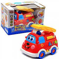 Пожарная машина Play Smart «Расти малыш» со спецэффектами, русс. и англ. язык, 15х13х11 см (9163)