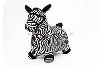 Прыгуны - лошадки в чехле MS 0325 цвет черно-белый