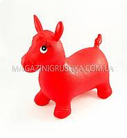 Прыгуны-лошадки для детей - красный