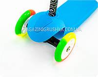Самокат трехколёсный «Scooter» (Разноцветные колеса колеса) SC16004, фото 2